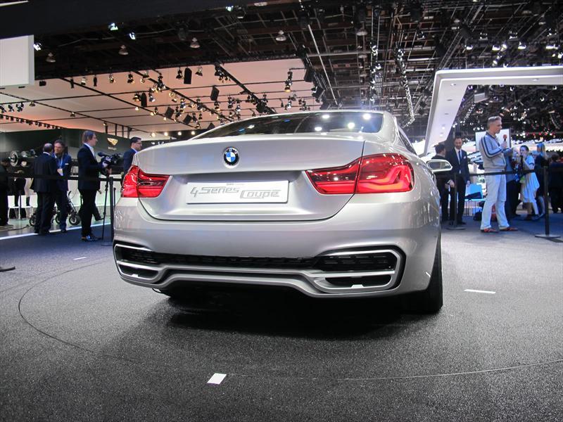 BMW Serie 4 Concept en vivo
