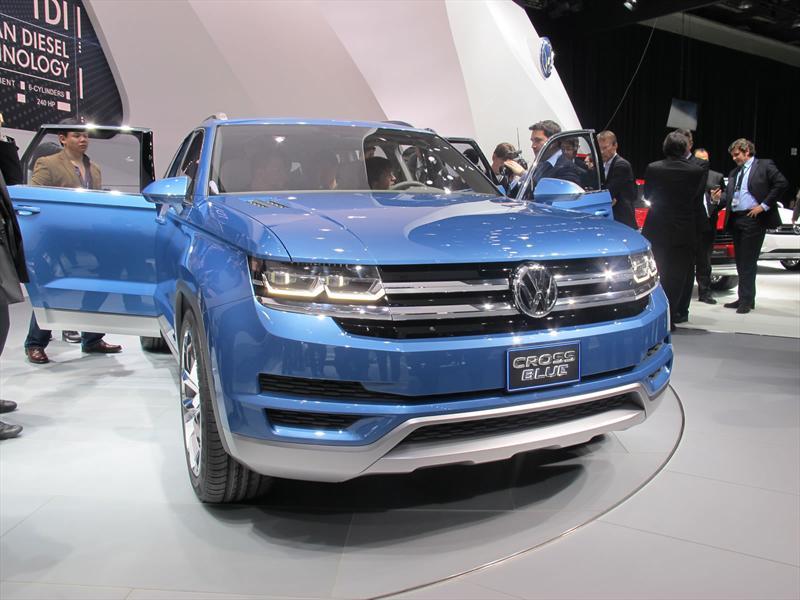 Volkswagen CrossBlue Concept en vivo