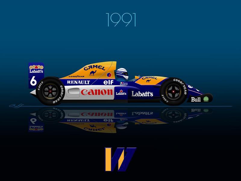 Ganadores GP F1 México 1991