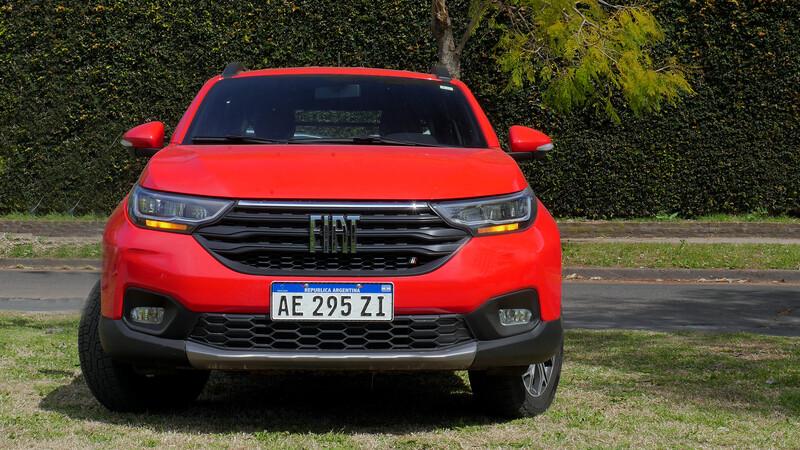 Test FIAT Strada Volcano 2020