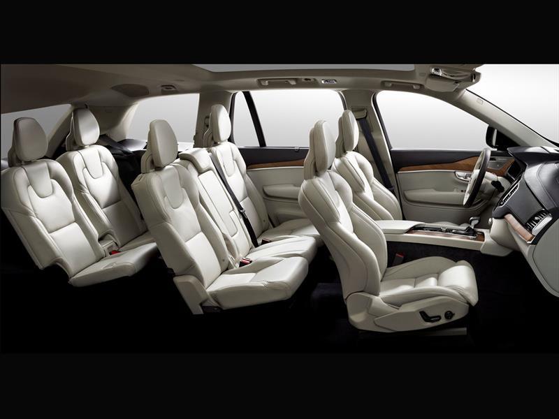Volvo XC90 2015, primeras imágenes del interior