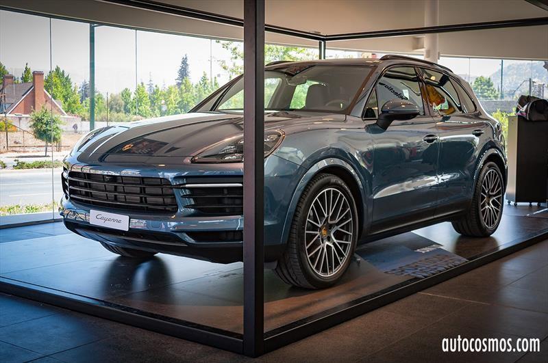 Porsche Cayenne 2018 - Lanzamiento en Chile