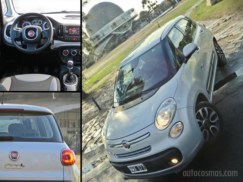 FIAT 500L a prueba