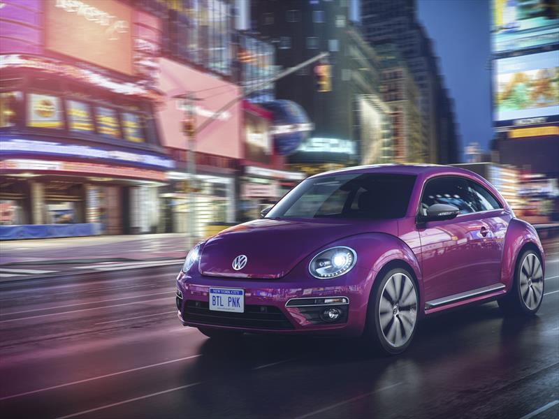 Volkswagen Beetle Pink Color Edition