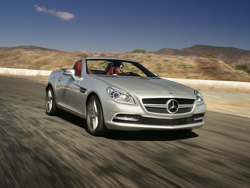 Mercedes-Benz SLK 350 CGI 2011 a prueba