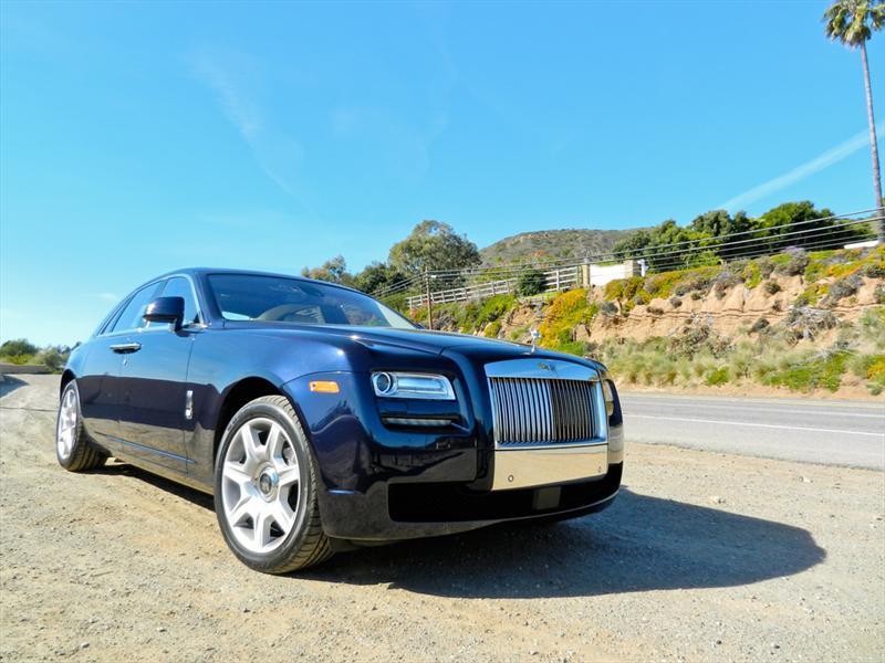Rolls-Royce Ghost 2012 a prueba