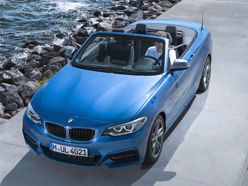 Llega el BMW Serie 2 Cabrio