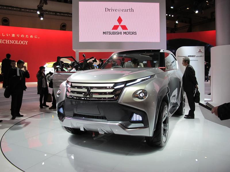 Mitsubishi GC-PHEV Concept, el futuro del Montero