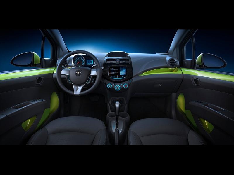 Mejores interiores 2013: Chevrolet Spark