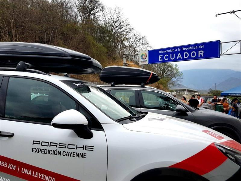 Expedición Porsche Cayenne: Ecuador