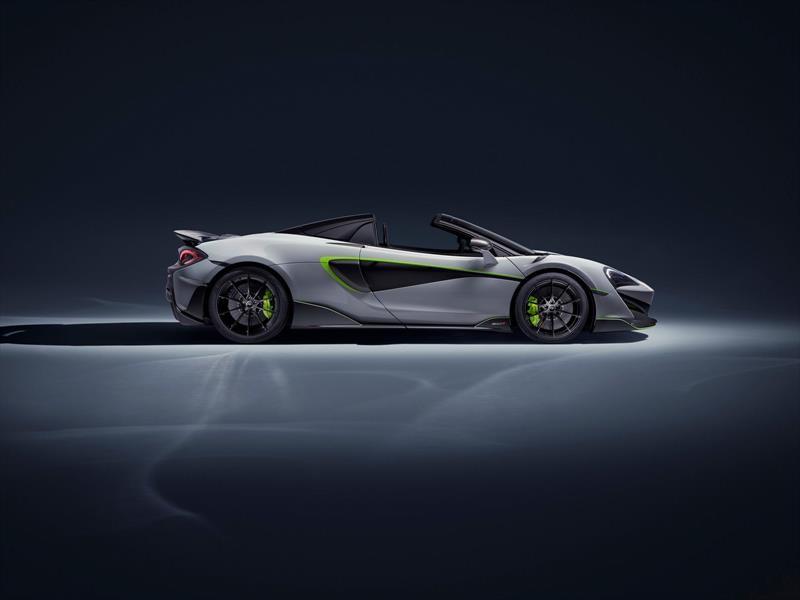 Dove Grey McLaren 600 LT Spider por MSO