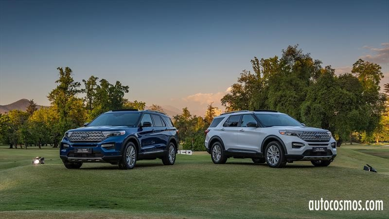 Ford Explorer Limited 2020 en Chile