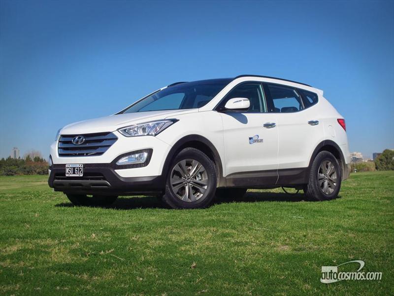 Hyundai Santa Fe a prueba