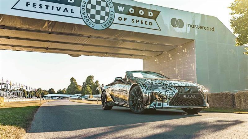 Lexus LC Convertible Prototipo 2019