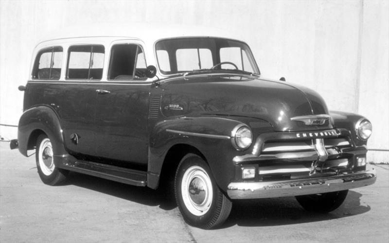 Chevrolet Suburban 5ª Generación 1955-1959