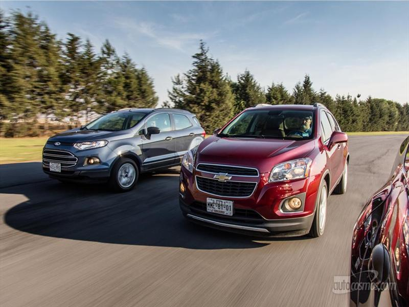 Chevy Tracker vs Ford Ecosport vs Renault Duster