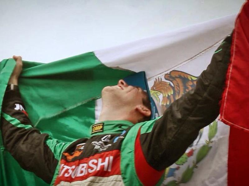 Benito Guerra Campeón del Mundo en PWRC