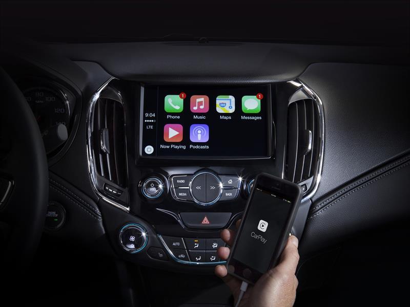 Chevrolet dispondrá de CarPlay y Andorid Auto