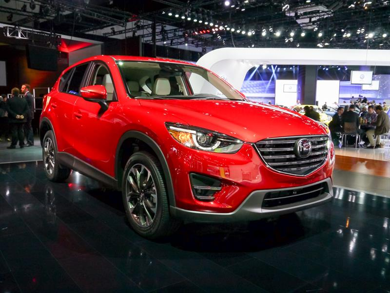 Mazda CX-5 2016 recibe actualización