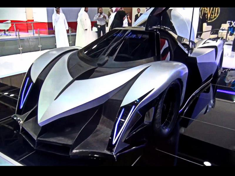 Devel Sixteen, 5000 CV a 560 Km/h
