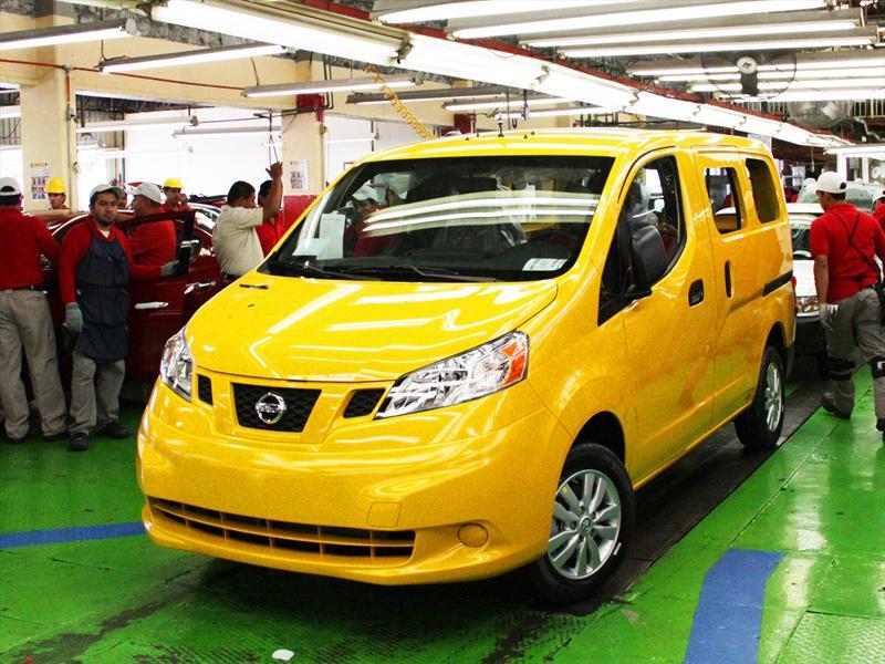 Producción Nissan NV200 Taxi del Mañana
