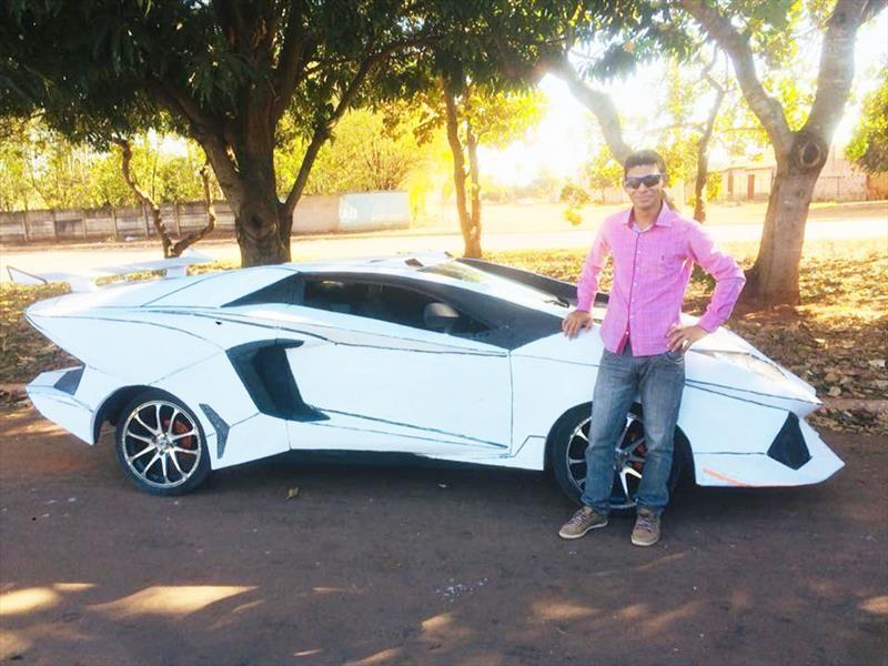 FIAT Uno + Lamborghini = LamborghUno