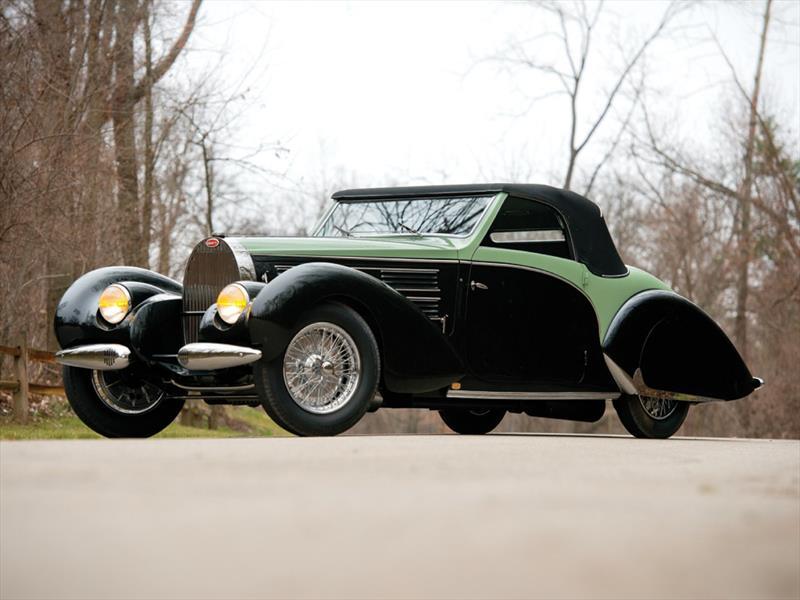 Bugatti Type 57C Aravis Cabriolet by Gangloff 1938