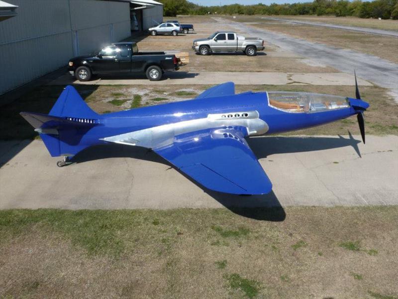 Bugatti 100P, el avión que nunca pudo volar