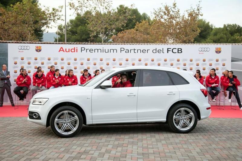 El equipo Barcelona estrena un Audi