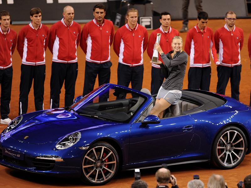 María Sharapova es la sensual cara de Porsche