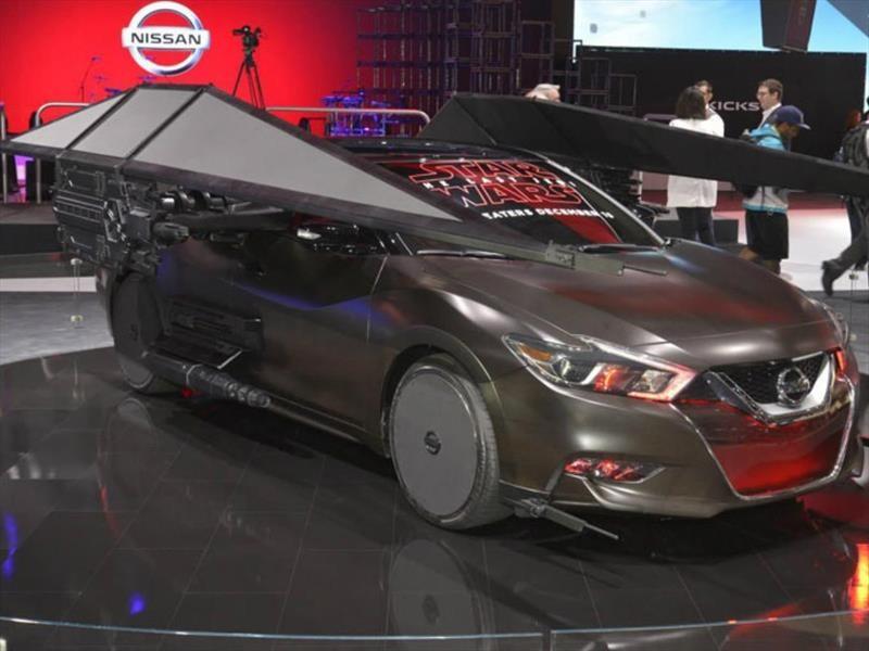Nissan Maxima-Kylo Ren's TIE Silencer