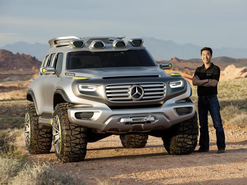 Mercedes-Benz Ener-G-Force, el futuro Clase G