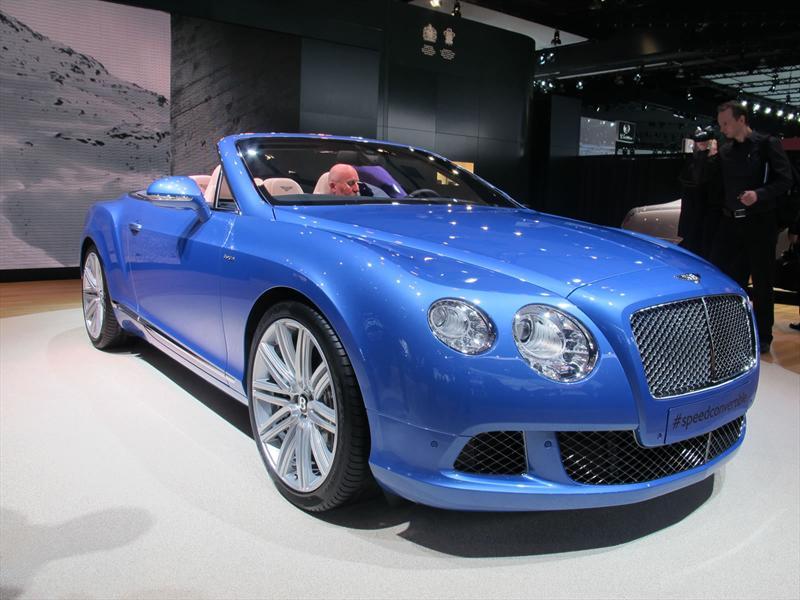 Bentley Continental GTC Speed 2014 en vivo