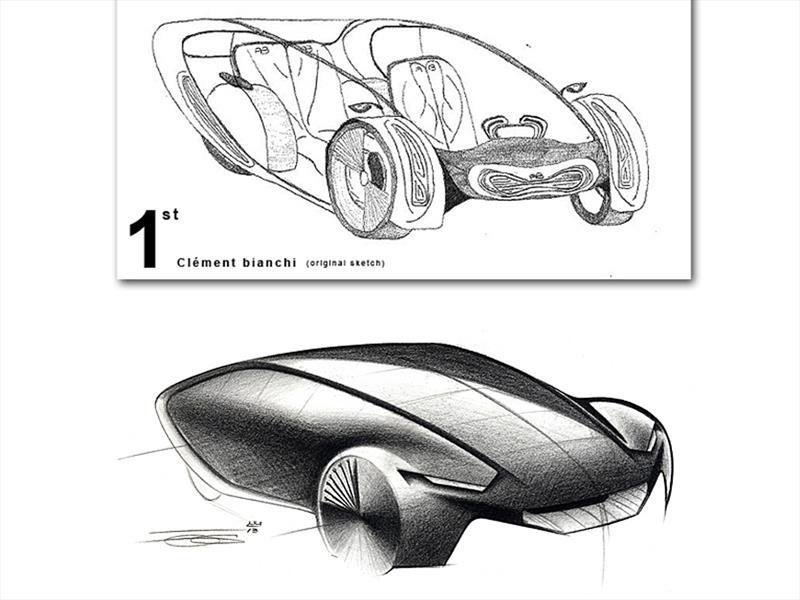 Los niños se imaginan a los Peugeot del 2020