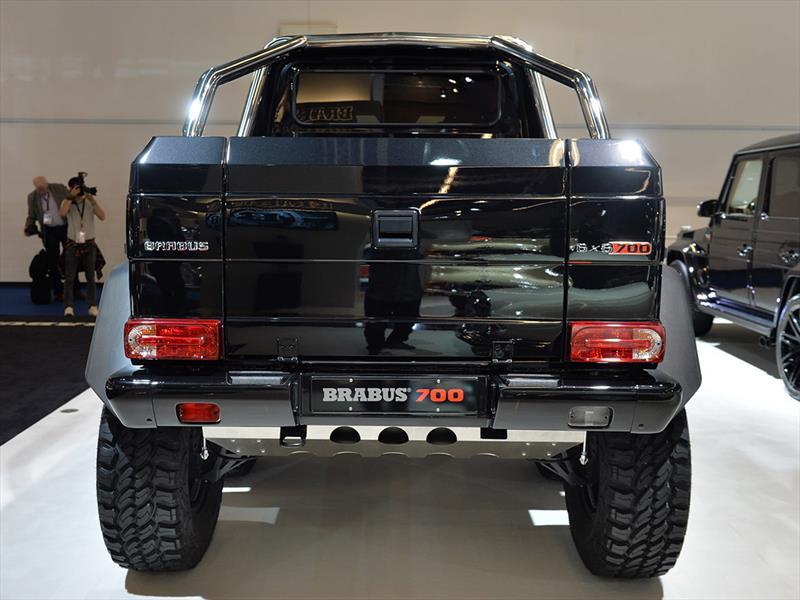 Brabus B63S -700 6x6 debuta