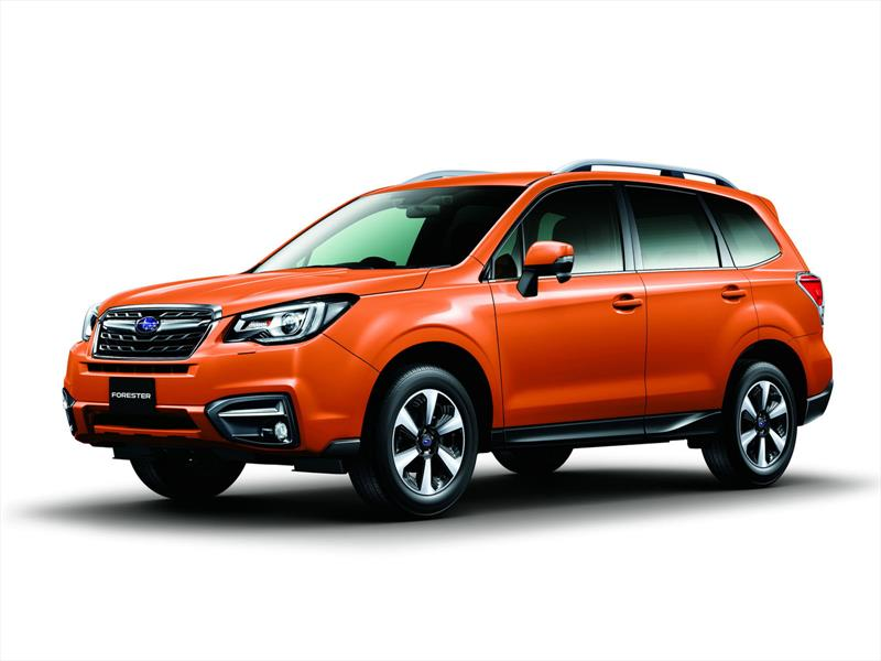 Subaru Forester restyling