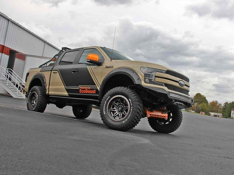 Ford F-150 4×4 Lariat SuperCrew por CJ Pony Parts
