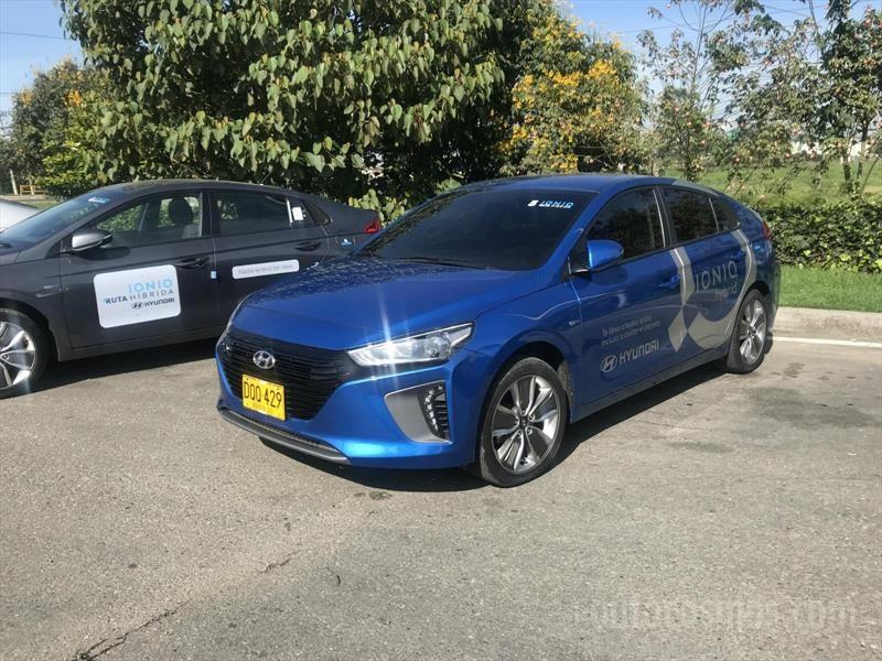 Hyundai Ioniq test drive