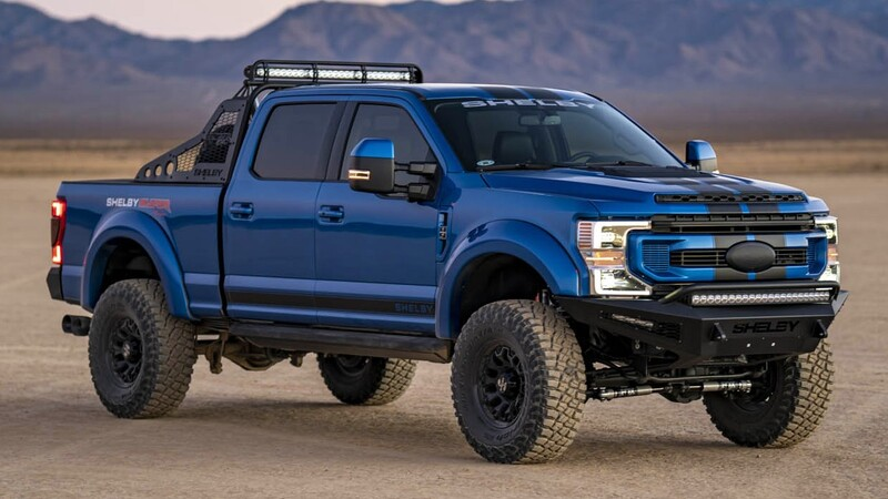 Shelby F-250 Super Baja 2021