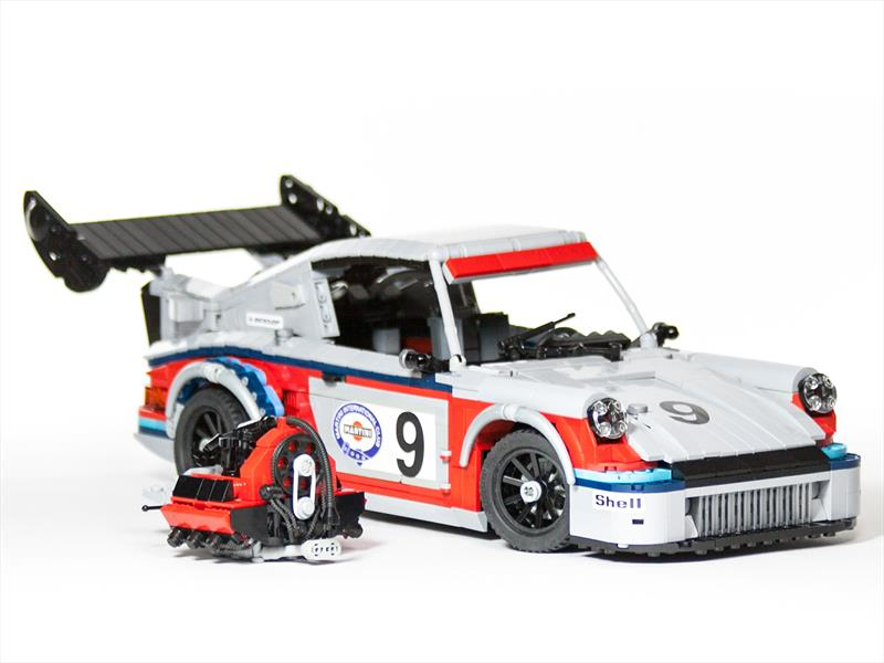 Martini Porsche Racing Set de Lego