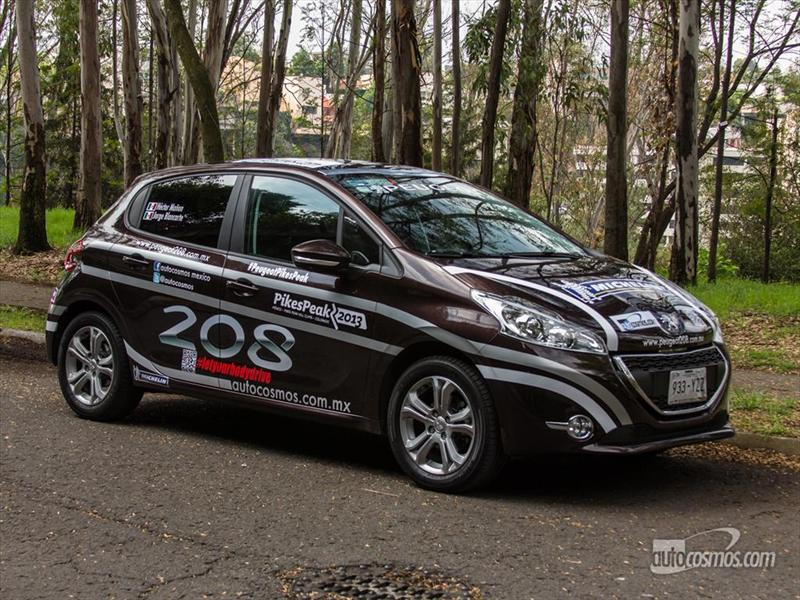 Ruta a Pikes Peak 2013: Peugeot 208 2014