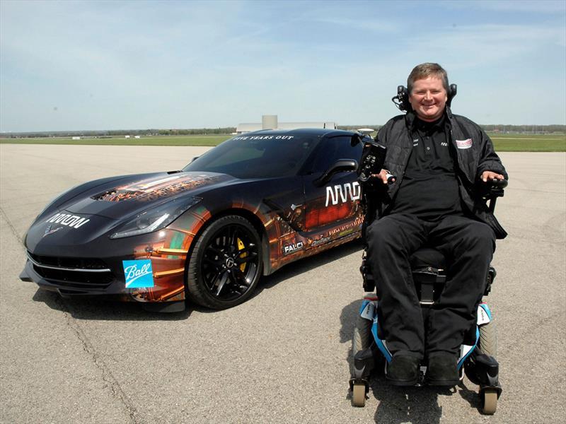 Chevrolet Corvette para persona con discapacidad