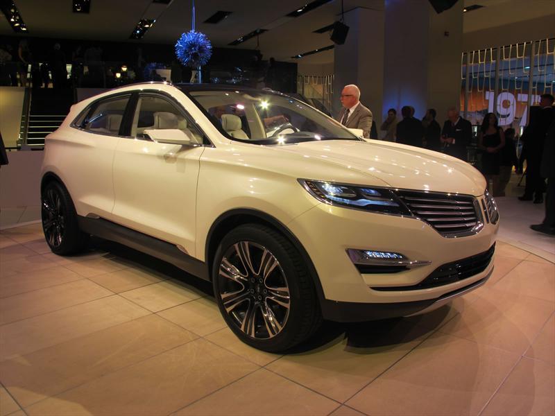 Lincoln MKC Concept en vivo