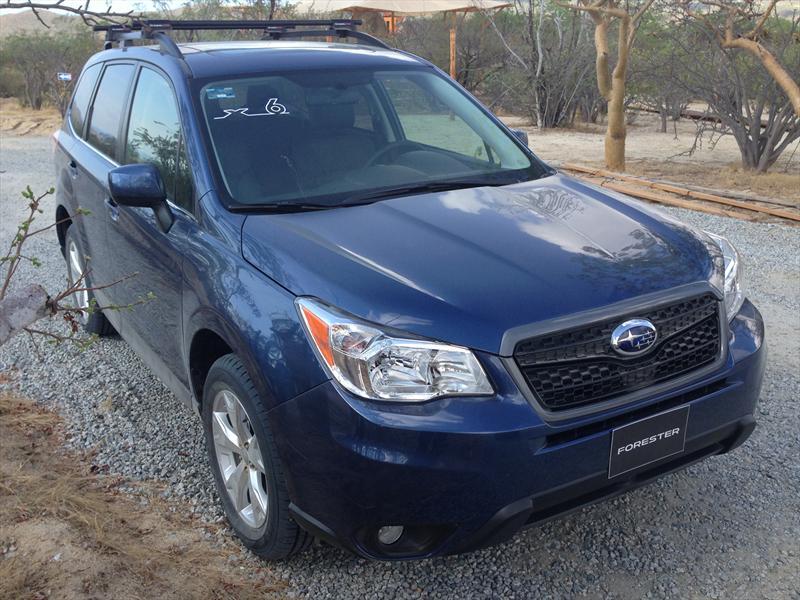 Subaru Forester 2014 se presenta en México