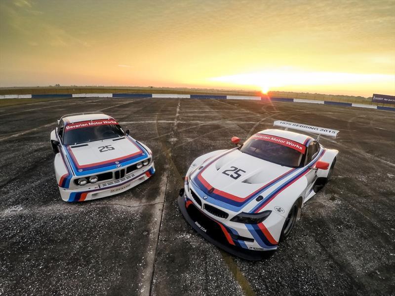 BMW rinde homenaje al 3.0 CSL