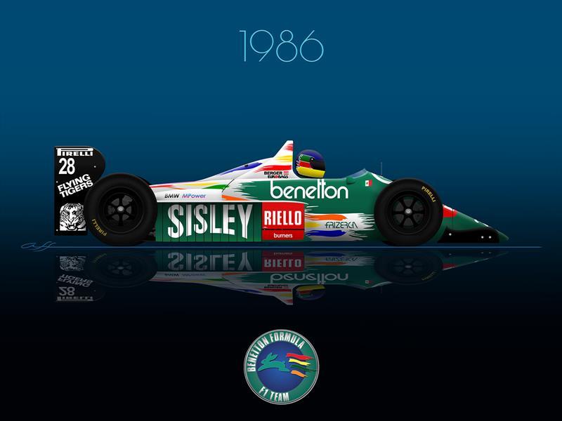 Ganadores GP de México 1986