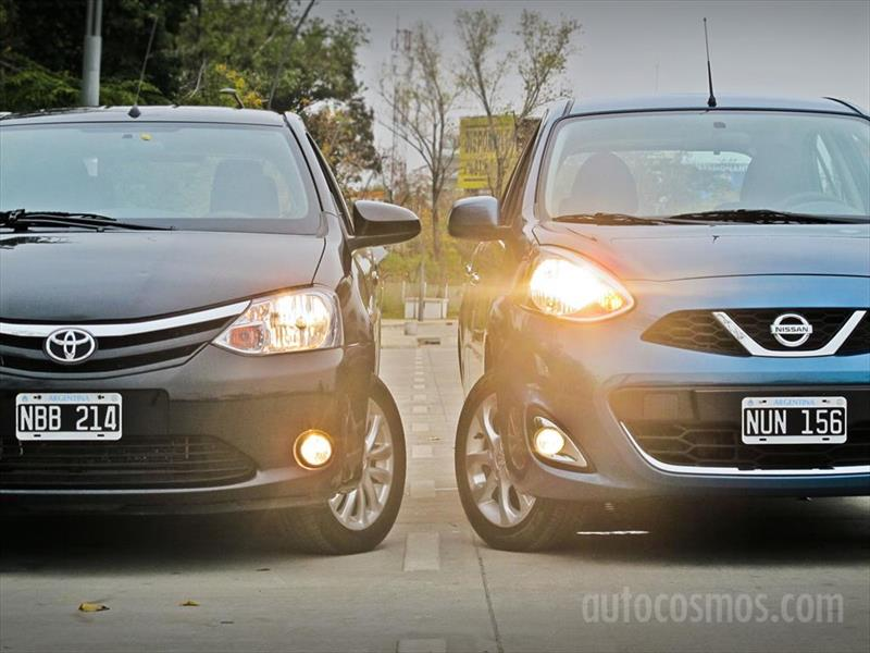 Nissan March vs. Toyota Etios