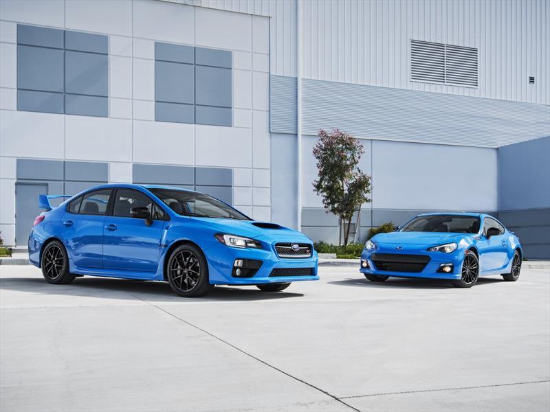 Subaru BRZ y WRX STI Series.HyperBlue 2016