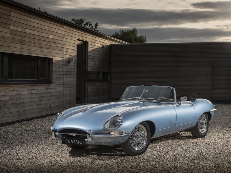 Jaguar presenta el E-Type Zero