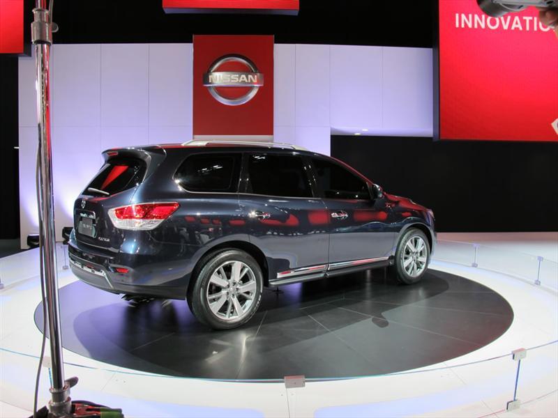 Nissan Pathfinder Concept en Detroit 2012